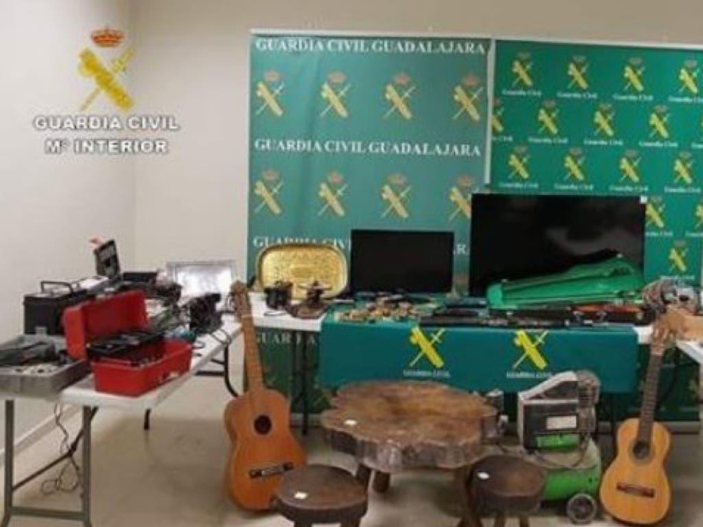 Detenidos por robar en viviendas y comercios de Sigüenza