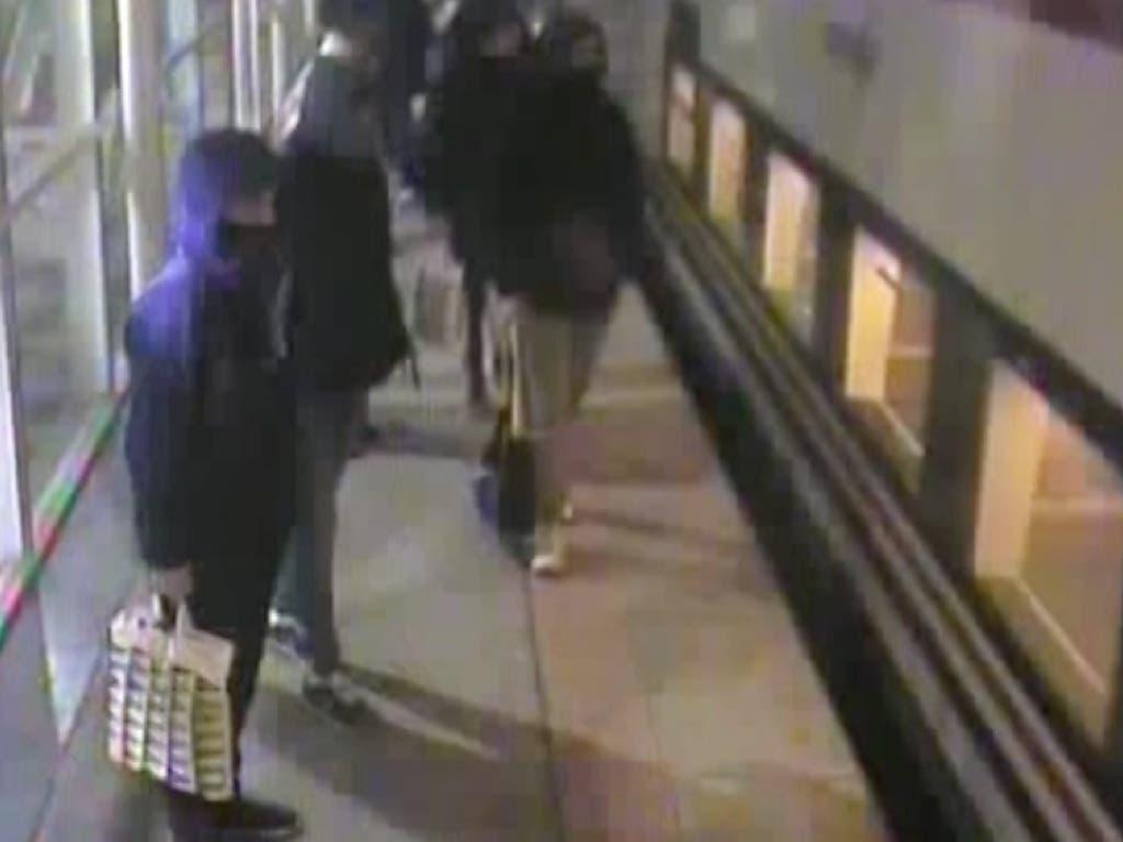 Detenidos cuatro grafiteros por sembrar el pánico en un tren de Cercanías