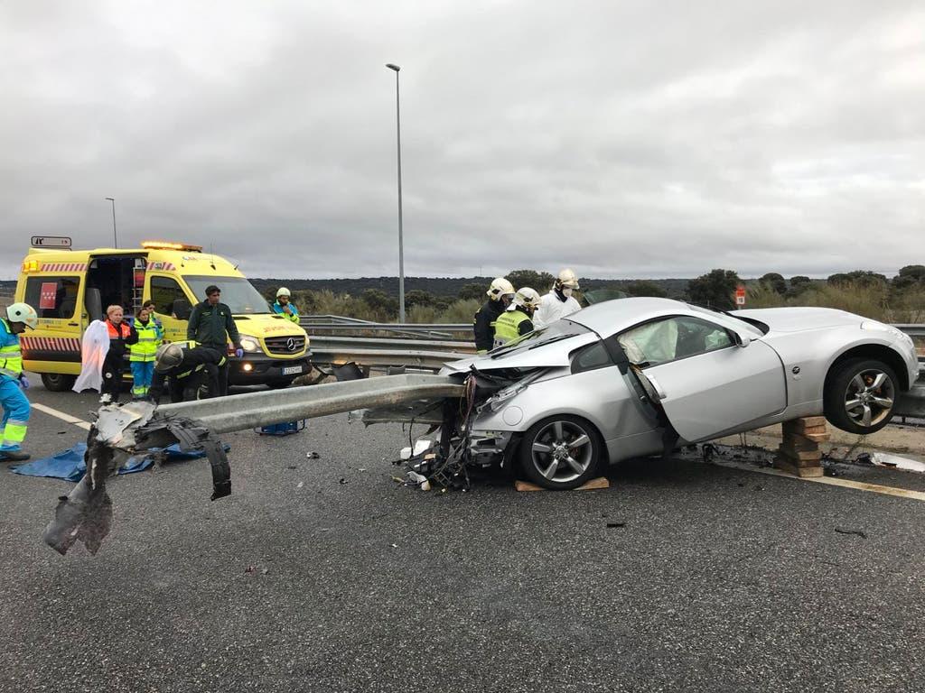 Muere un conductor de 38 años en un accidente en la M-503