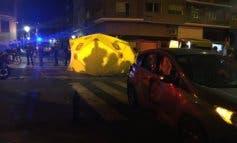 Herido muy grave un motorista de 29 años tras sufrir un accidente en Madrid