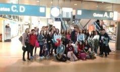 27 alumnos de Coslada, atrapados durante 56 horas en el aeropuerto de Hamburgo