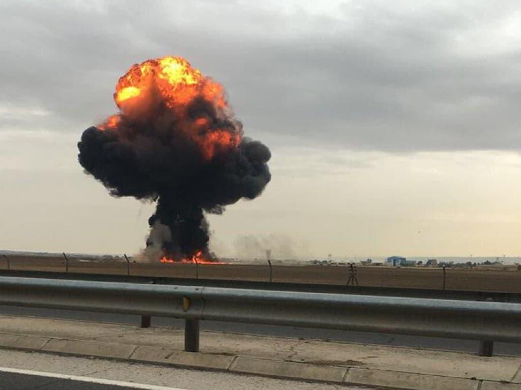 Defensa desconoce aún las causas del accidente del F-18 en Torrejón