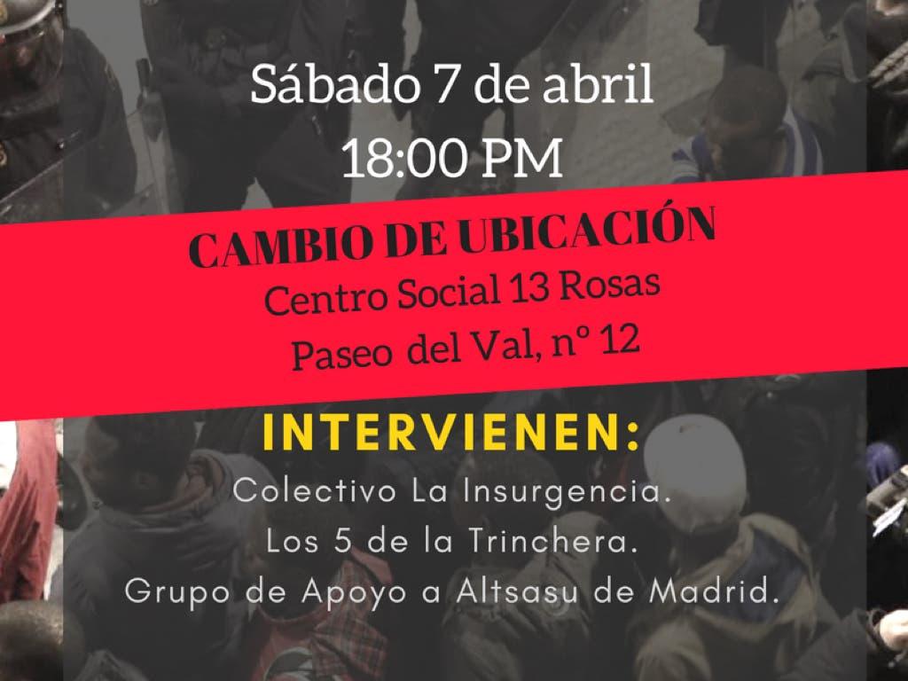 El acto de la polémica en Alcalá de Henares será finalmente en un local privado