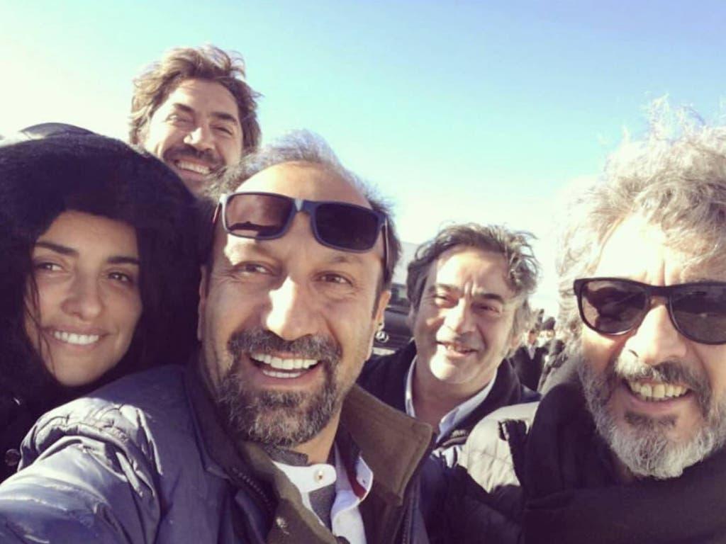 Bardem y Penélope Cruz ruedan su última película en Guadalajara