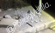 Sorprendidos en Velilla robando el cable de las farolas