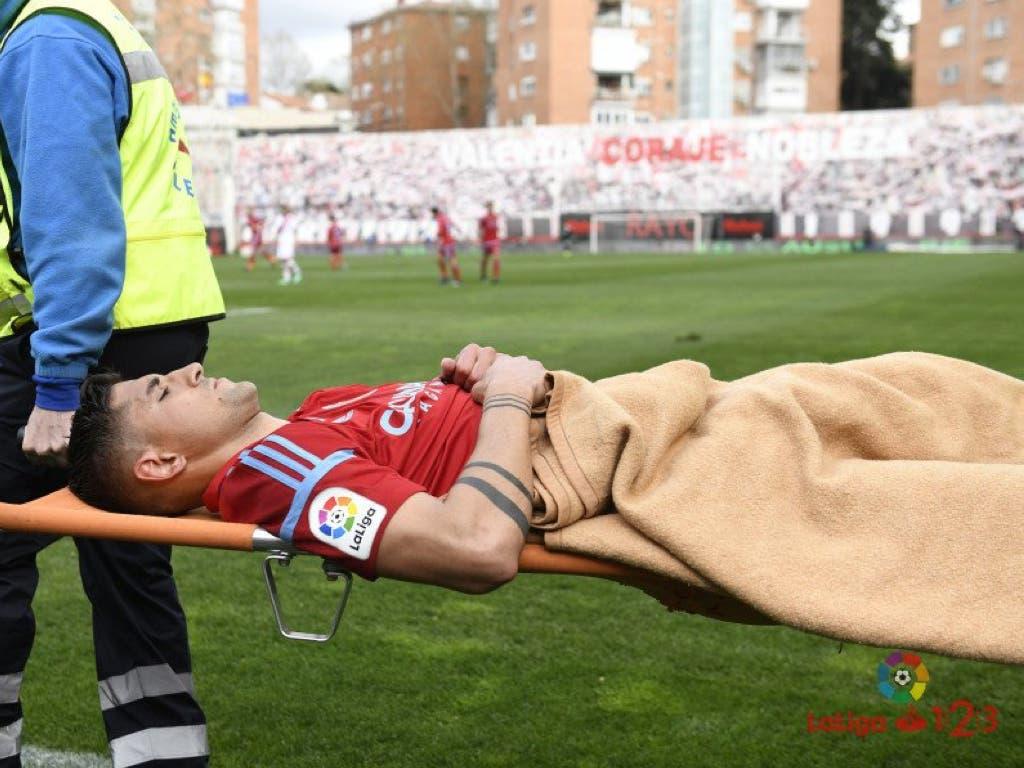 Grippo, ingresado en Madrid por un traumatismo craneoencefálico