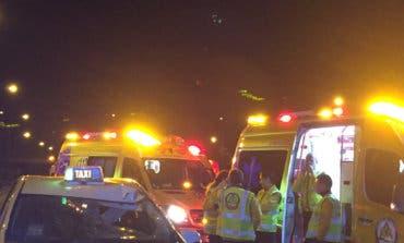 Muere un joven de 31 años atropellado por un taxi en la M-40