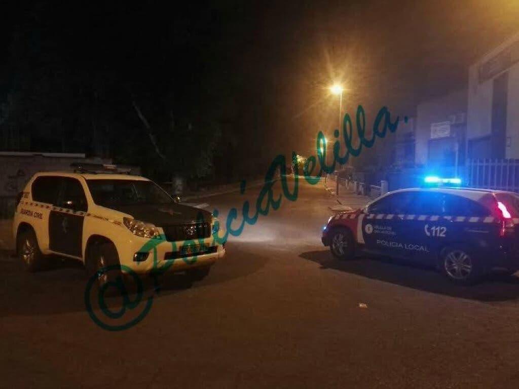 Un detenido por robo y dos huidos tras una persecución en Velilla