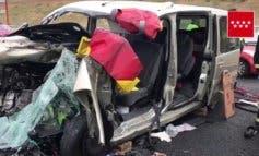 Muere una mujer y tres personas resultan heridas en un accidente en Paracuellos