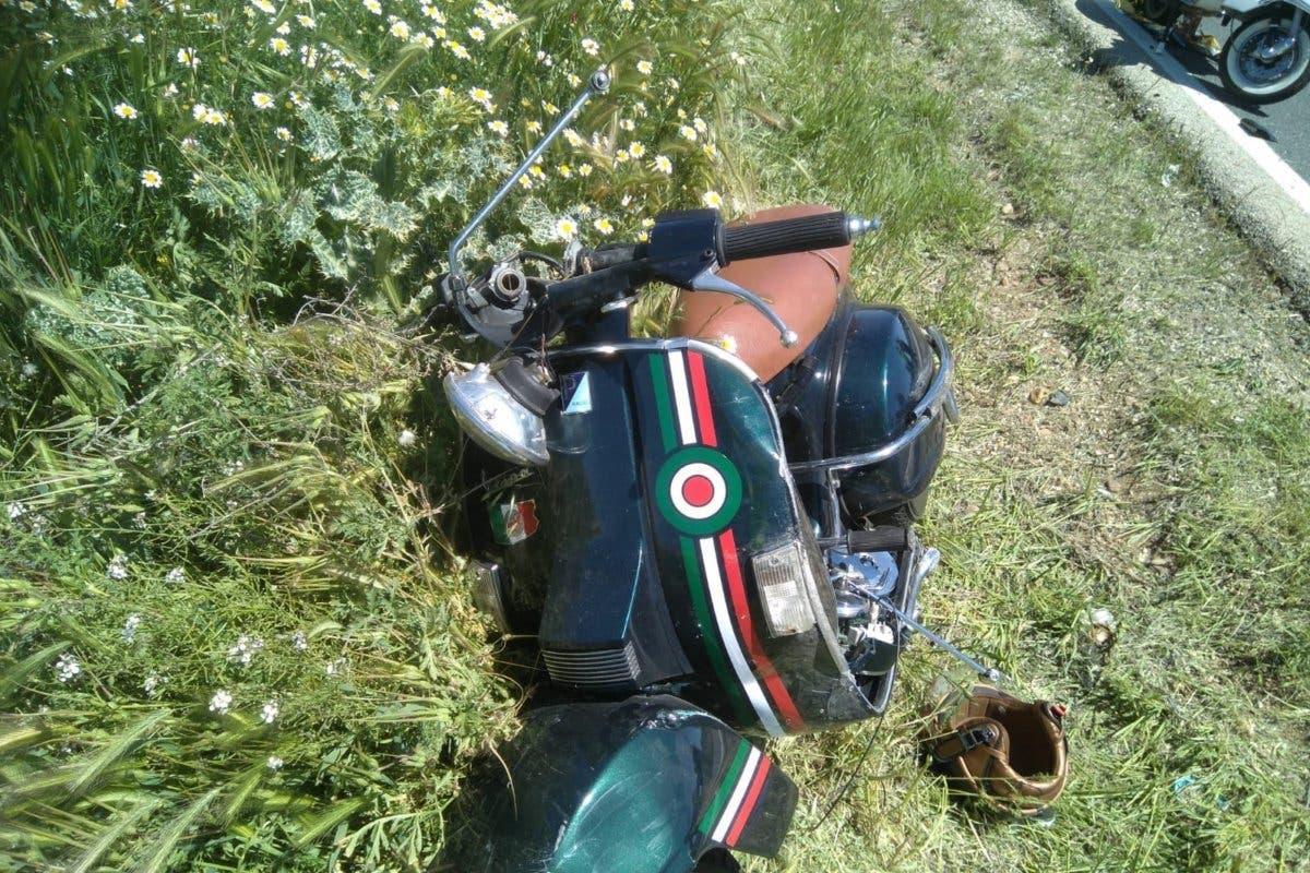 Dos heridos, uno grave, al chocar sus motos en Villalbilla