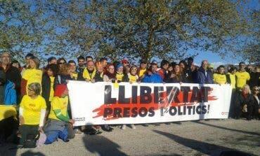 La carrera en apoyo a los presos independentistas llega a la cárcel de Alcalá-Meco