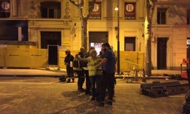 Sigue la búsqueda de dos obreros en el edificio derrumbado en Madrid