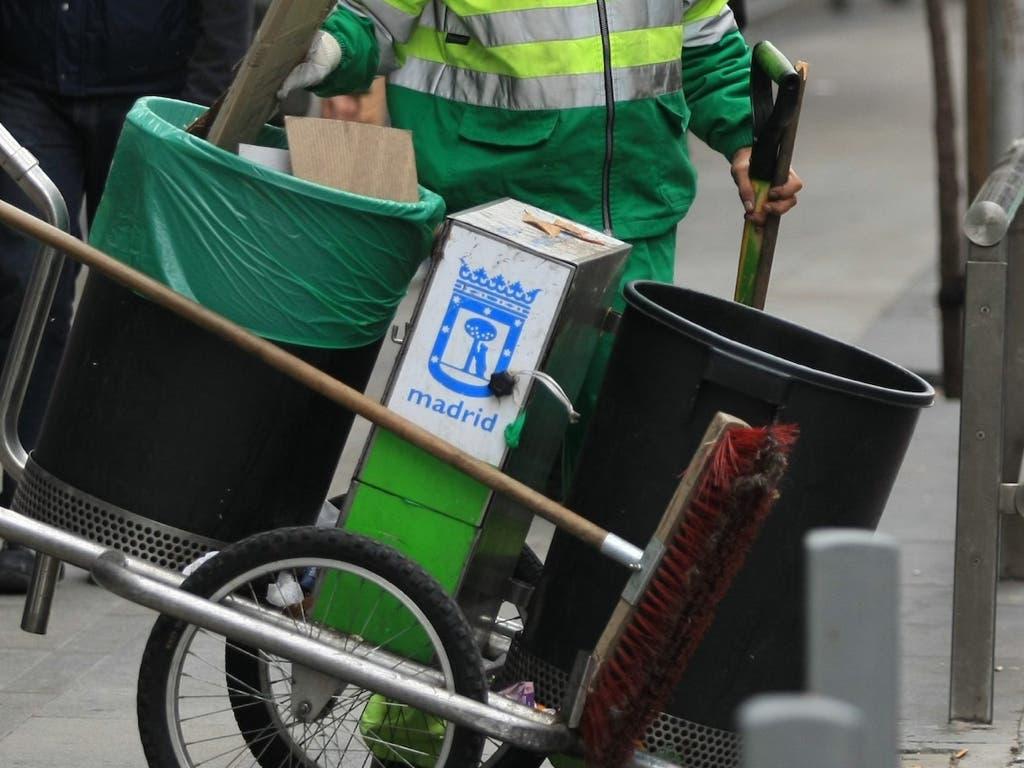 Desconvocada la huelga de limpieza viaria en Madrid