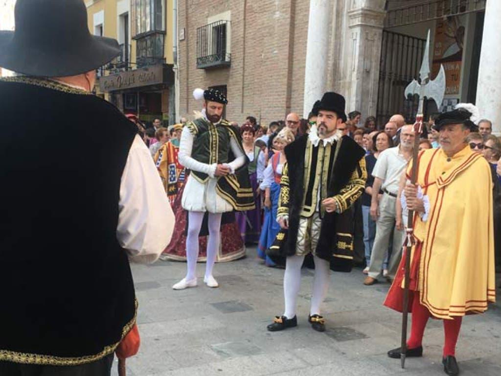 Felipe II e Isabel de Valois volverán a casarse en Guadalajara