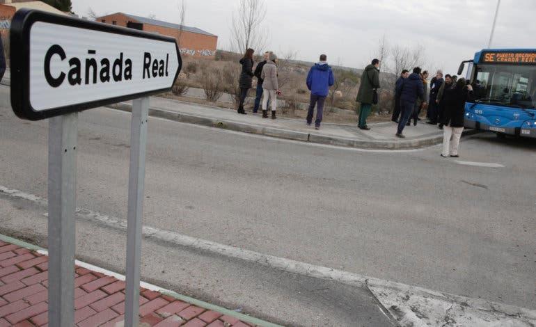 Desmanteladastres plantaciones de marihuanaen la Cañada Real