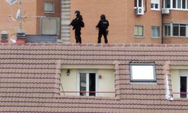 Detenido en Coslada tras atrincherarse en su casa con una pistola