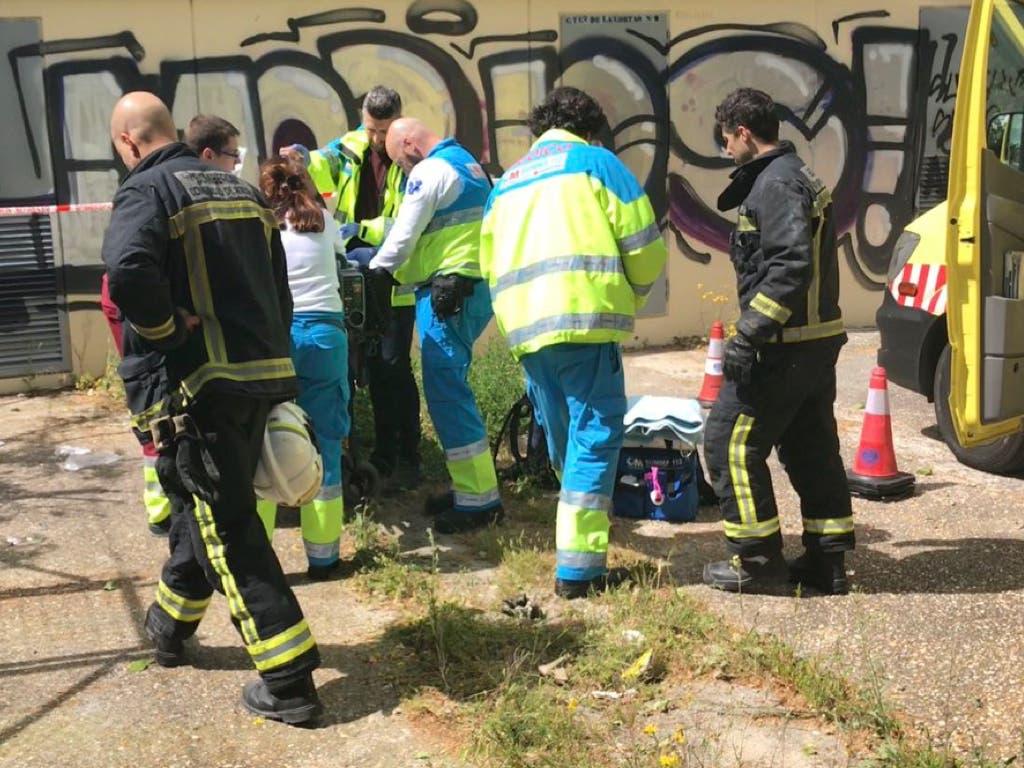 Herido grave un hombre al electrocutarse en SanSebastián de los Reyes