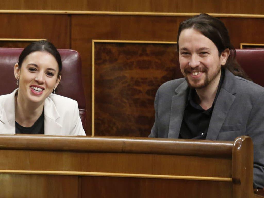 Irene Montero y Pablo Iglesias esperan su tercer hijo