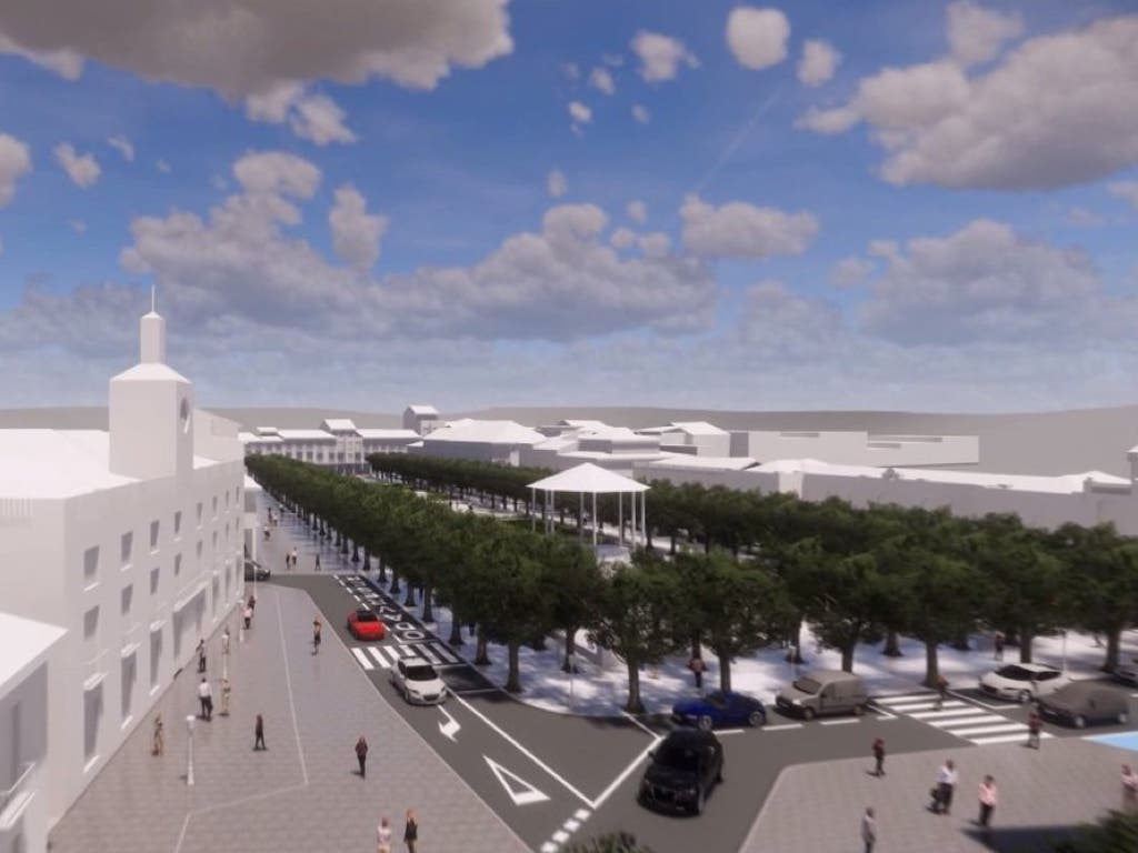 Alcalá de Henares inicia las obras de la Plaza de Cervantes