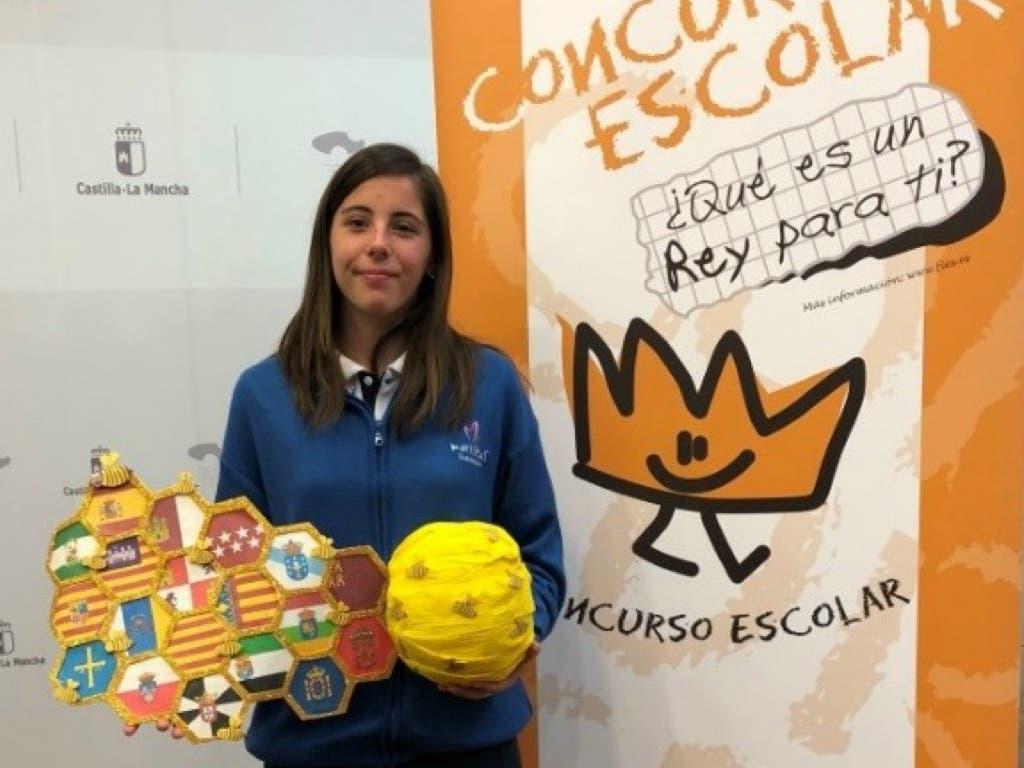 Paula, la joven de Guadalajara que podrá conocer al Rey