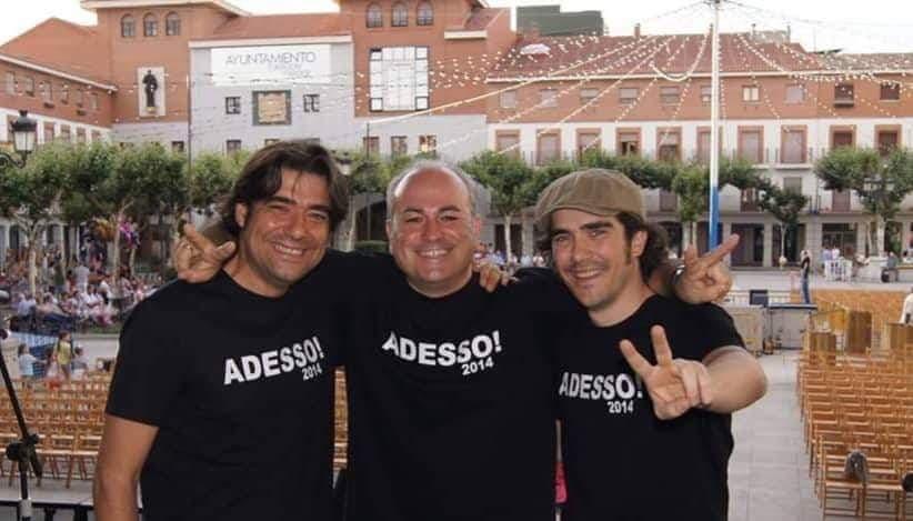 Los tres tenores de Torrejón, pregoneros de las Fiestas Populares