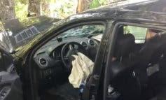 Cuatro heridos al estrellar su coche contra un árbol