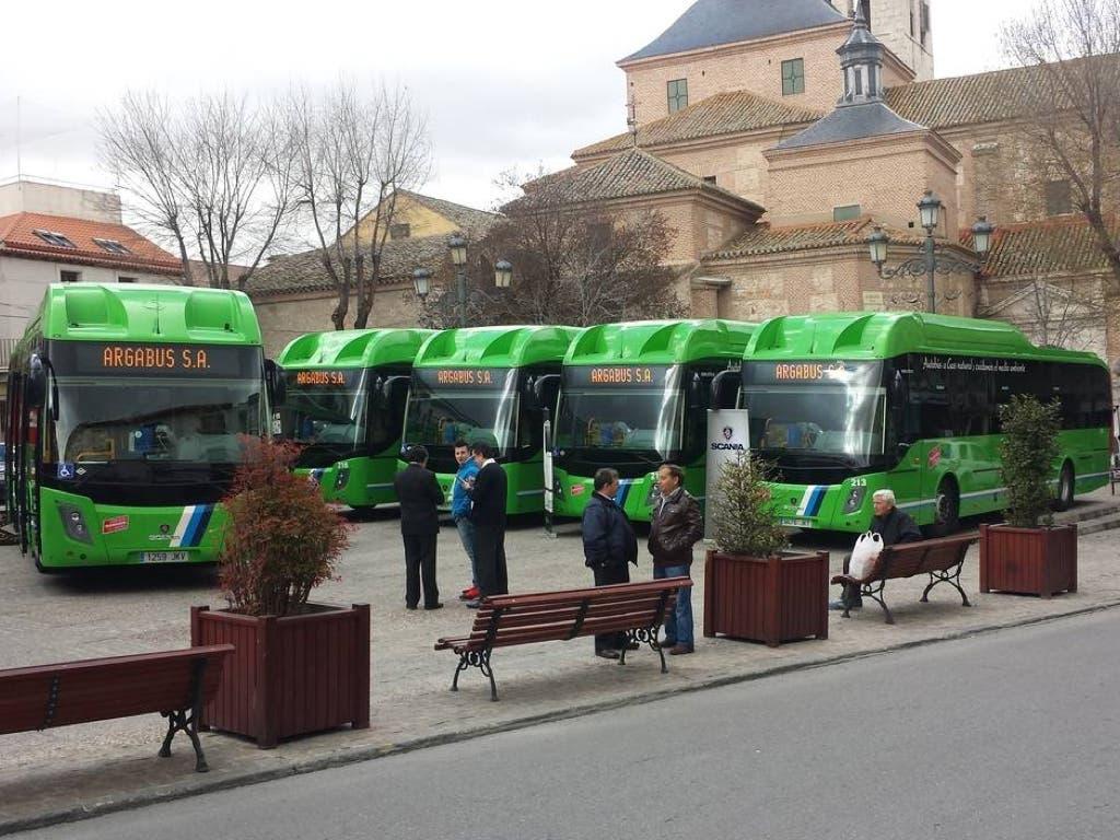 Alsa compra la empresa de autobuses Argabus, de Arganda del Rey