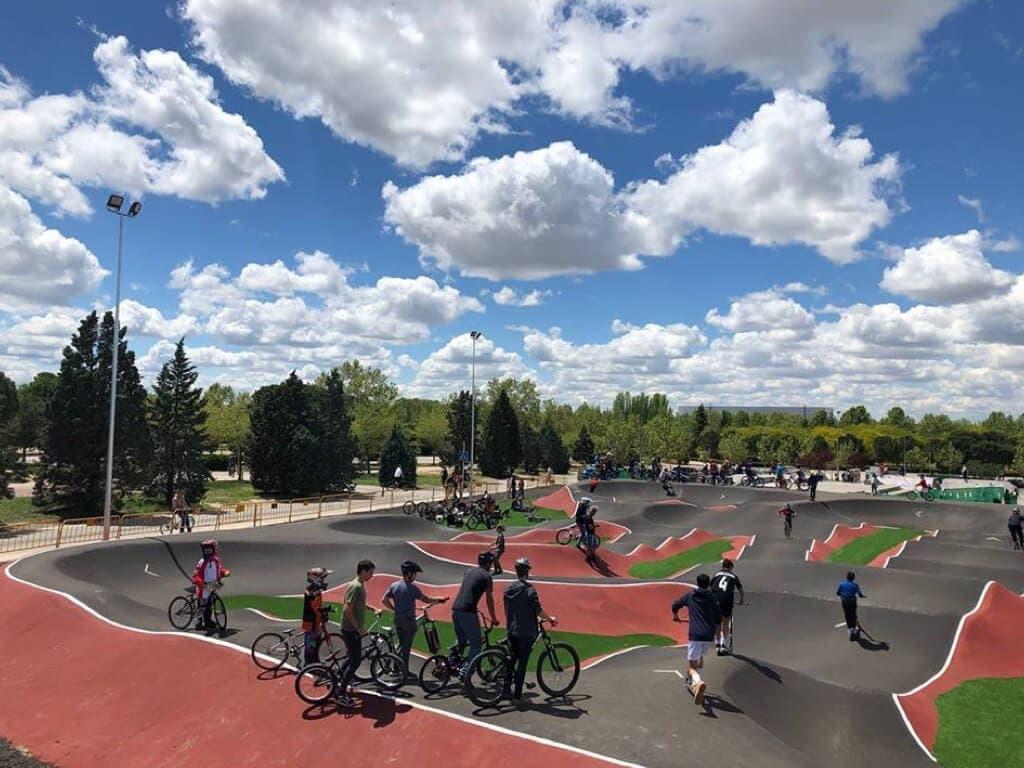 Torrejón inaugura este sábado el bike park más grande de España