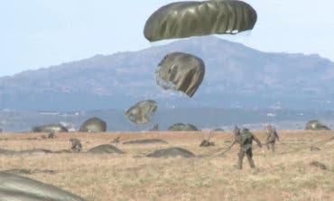 Recibe el alta el paracaidista de Paracuellos herido en un salto