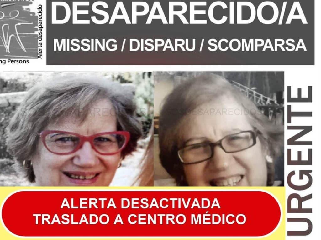 Localizan y trasladan a un centro médico a la mujer desaparecida en Alcalá de Henares