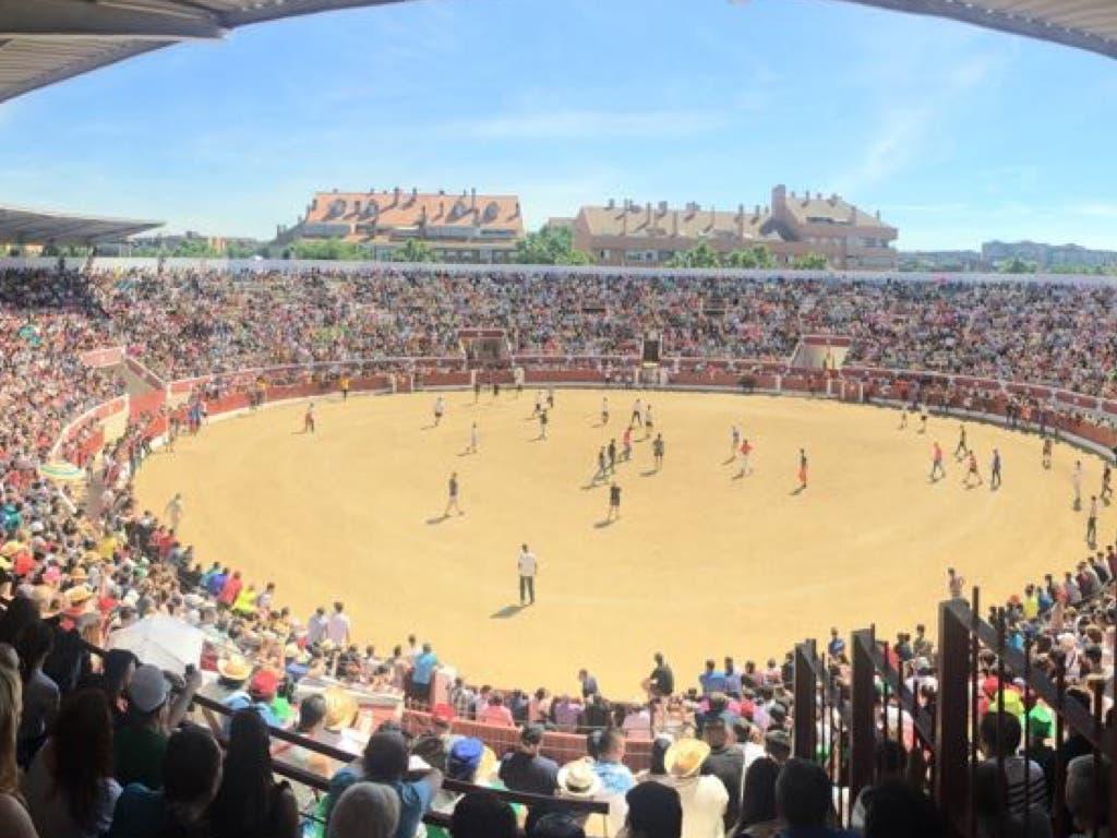 El último encierro de las Fiestas de Torrejón