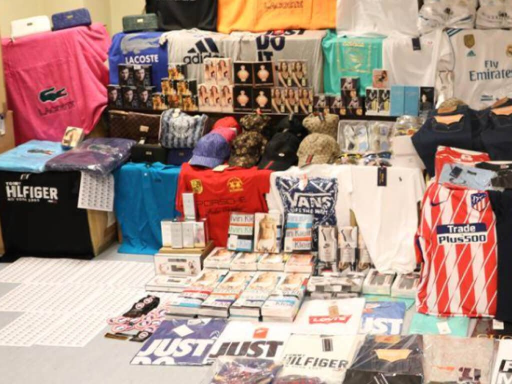 Detenido el mayor distribuidor de falsificaciones de Madrid