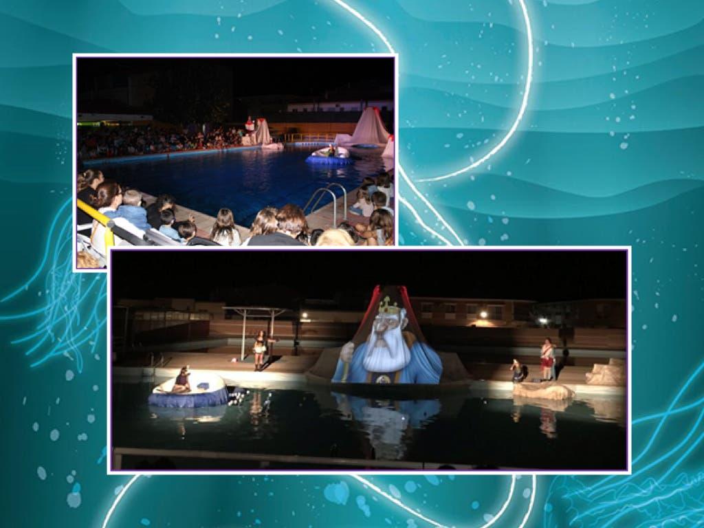Llega a Guadalajara el primer espectáculo teatral acuático realizado en España