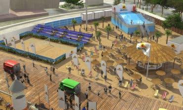 Madrid convertirá la Plaza de Colón en una playa este verano