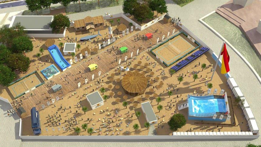 La playa de Colón difícilmente será una realidad este verano