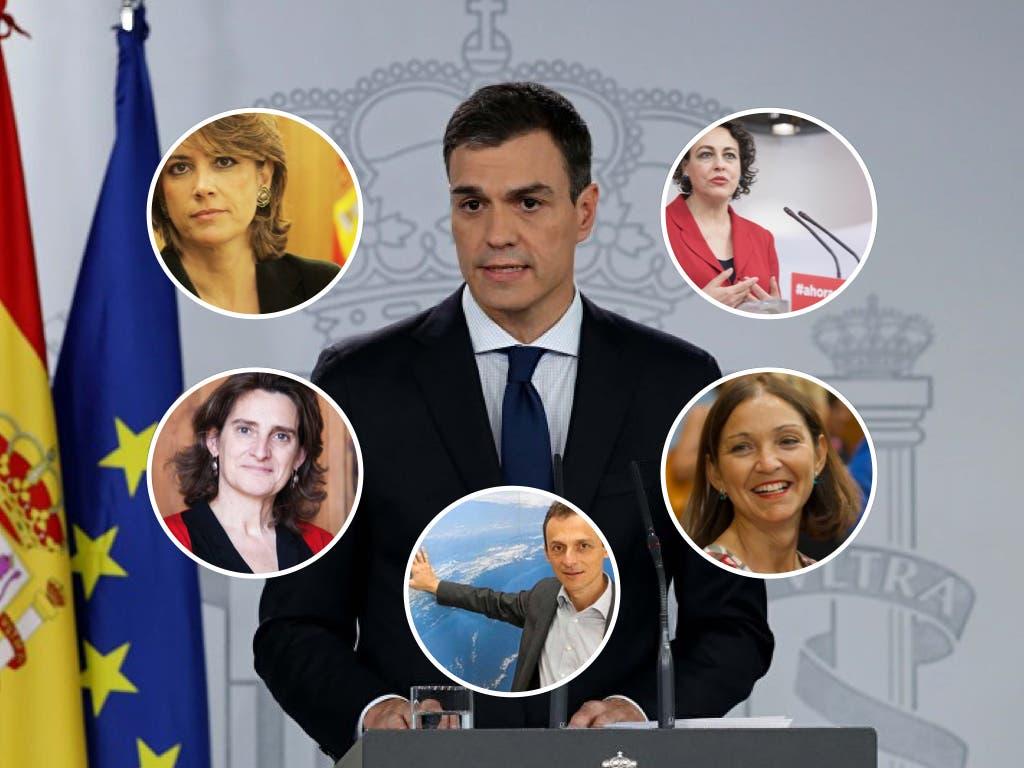 El Gobierno de Sánchez: Cuatro ministros de Madrid y uno de Guadalajara