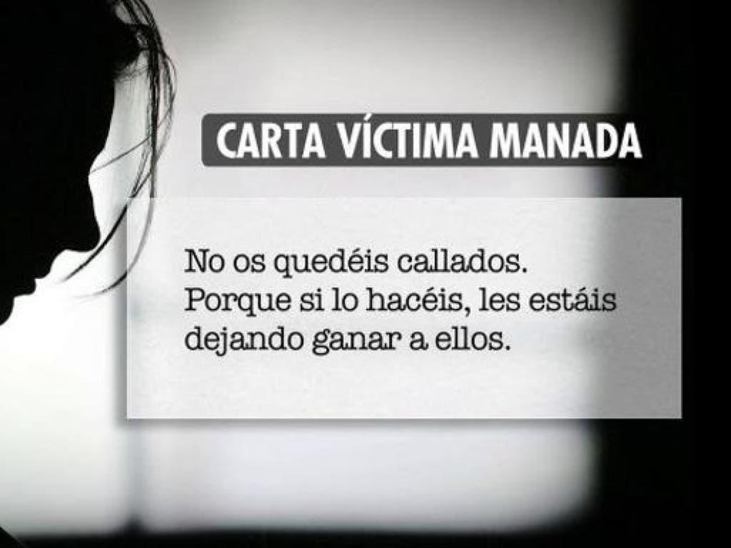 La víctima de La Manada rompe su silencio en una carta