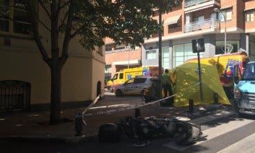 Muere un motorista tras chocar contra una furgoneta en Madrid