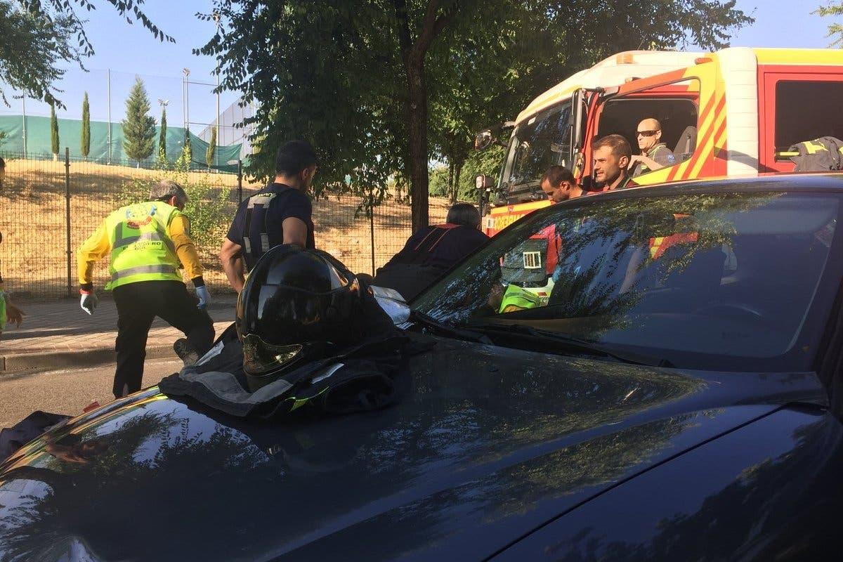 Muere una mujer atropellada por un coche en Vicálvaro