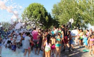 Llega a Torrejón de Ardoz la Gran Fiesta de la Espuma
