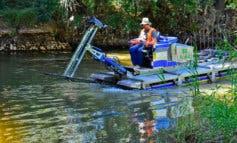Torrejón vuelve a poner en marcha el barco anfibio contra los mosquitos