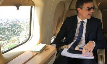 Pedro Sánchez y su polémico viaje en helicóptero de Moncloa a Torrejón
