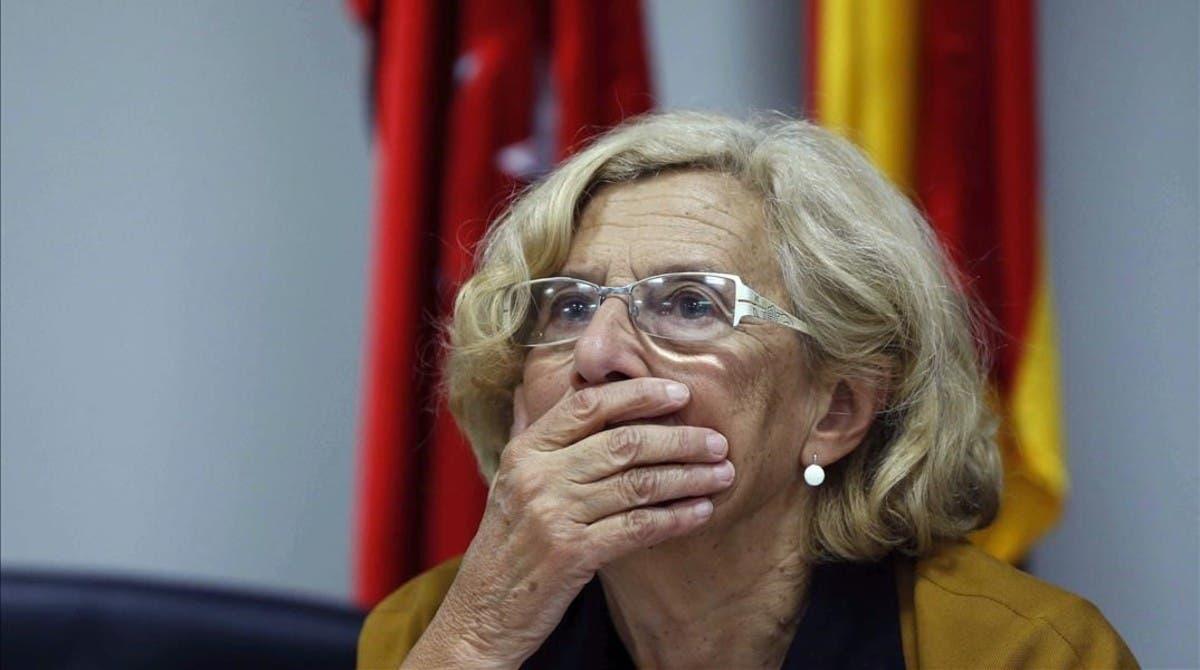 Carmena gasta más de 100.000 euros en el cambio de calles franquistas