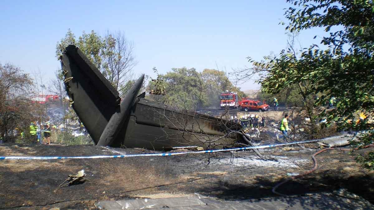 Se cumplen 10 años del accidente de Spanair en Barajas