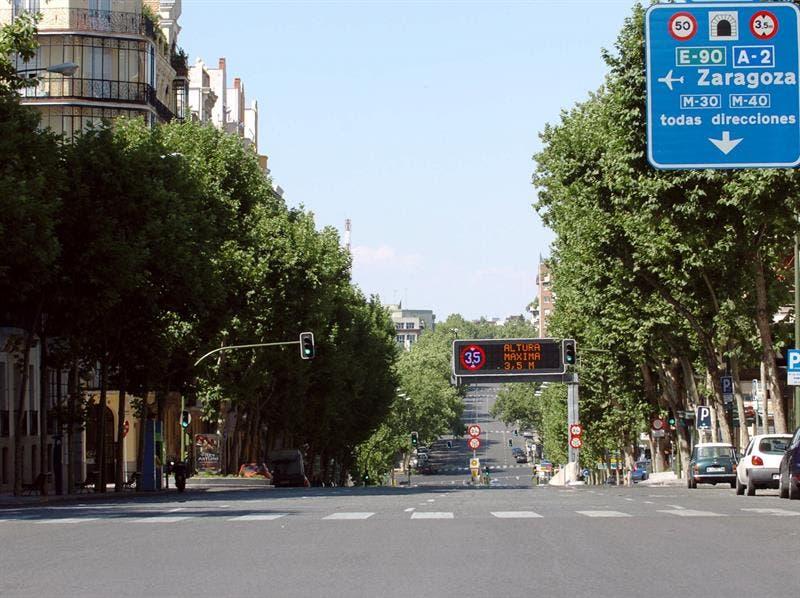 El túnel de María de Molina cierra por obras hasta el 9 de septiembre