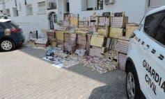 Desmantelado un grupo dedicado al contrabando de tabaco que operaba en Torrejón