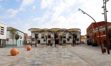 Meco estrena nueva Plaza de la Constitución