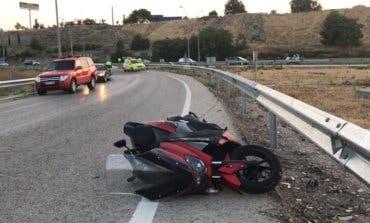 Muere un joven de 26 años en un accidente de moto en Rivas