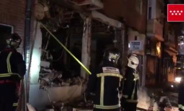 Una explosión destruye por completo un restaurante chino en Pozuelo
