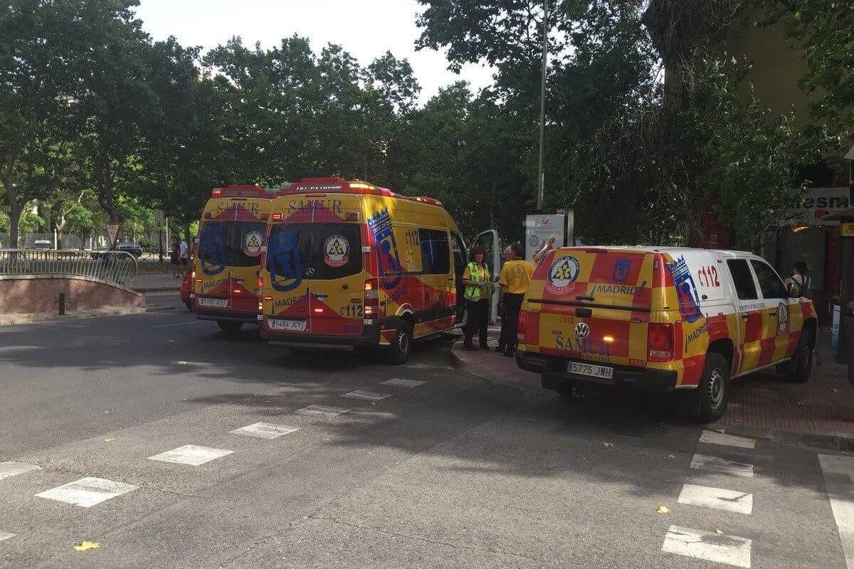 Segundo caso grave de golpe de calor en Madrid